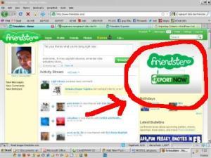 amankan data pribadi difs, nih lokasi friendster exporter, klik aja