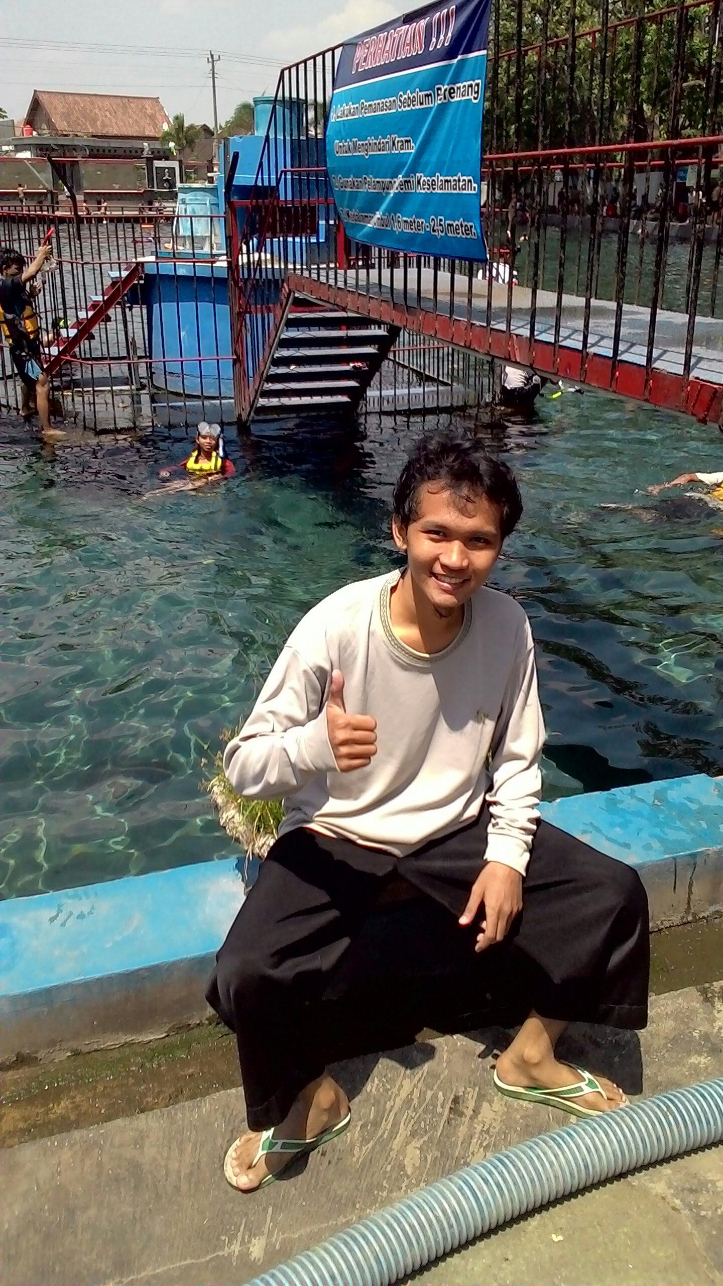 Foto Umbul Ponggok Tempat wisata air snokerling bagus klaten