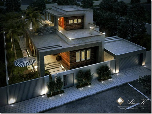 Desain Rumah bagus Dirumah Sempit