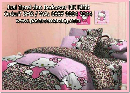 Jual Sprei Hello Kitty, Jual Bedcover Motif Hello Kitty