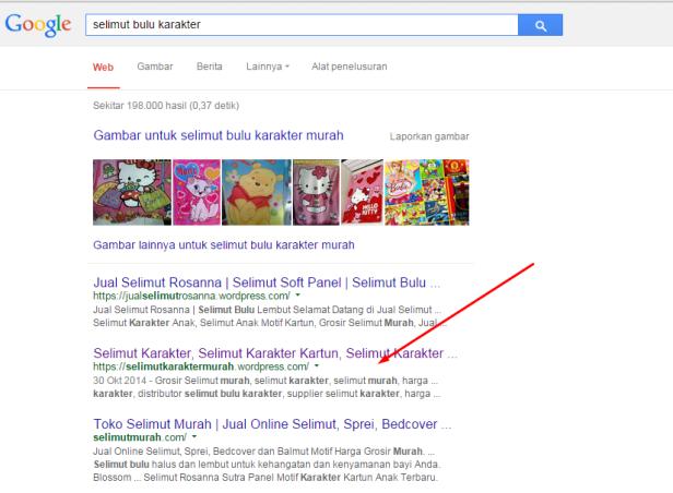 Keyword Stuffing Di Selimut Bulu Karakter Masih Bisa Bagus Di Google blognya anjrah