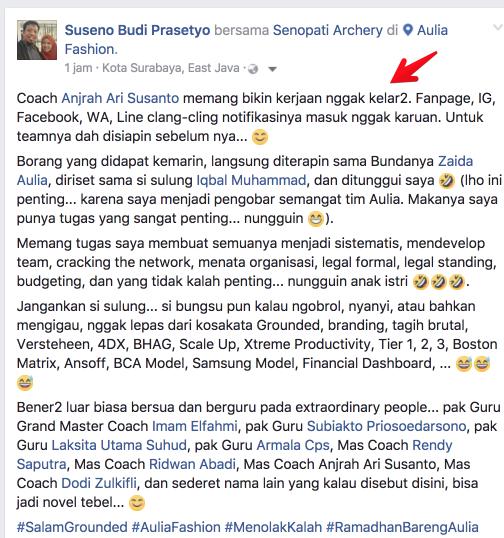 testimoni peserta PCG Klaten Facebook Ads
