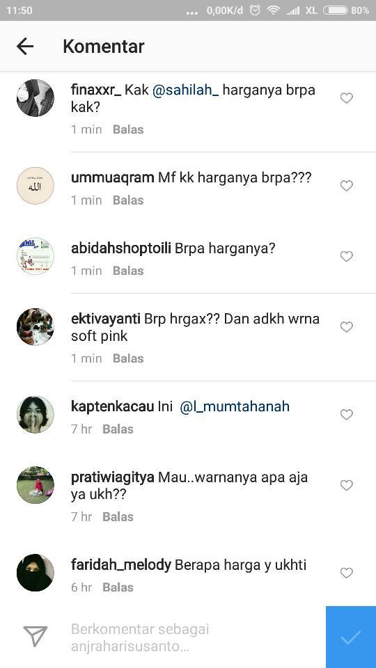 Contoh Iklan Jualan Cadar Bagus Di Instagram
