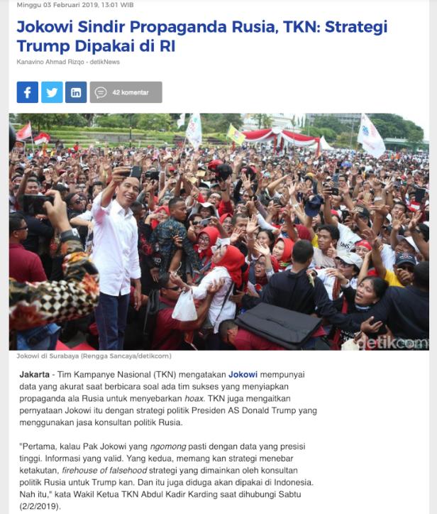 jokowi trump propaganda manusia